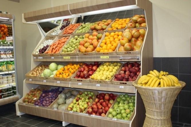 Стеллажи для овощи фрукты своими руками